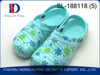 women colorful beautiful priting clogs