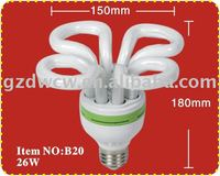 4U 26w Lotus Energy Saving Lamp good quality low price beautiful design
