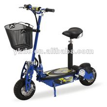 CE Approval 500W motor 36V lithium battery electric powered scooter with basket