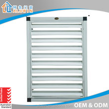 Adjustable aluminum profile glass shutter/louver window(CE approve)