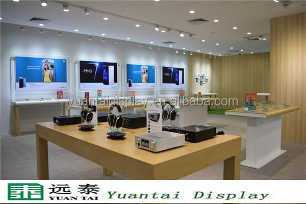 Modern shop counter design for mobile phone store