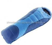 Inflatable cushion sleeping bag for camping