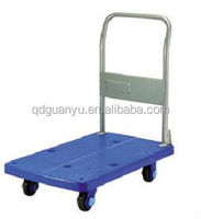 Foldable Smooth and Quite Moving Hand Push Cart Made in China