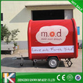 Stainless steel mobile resturant food cart with Customization