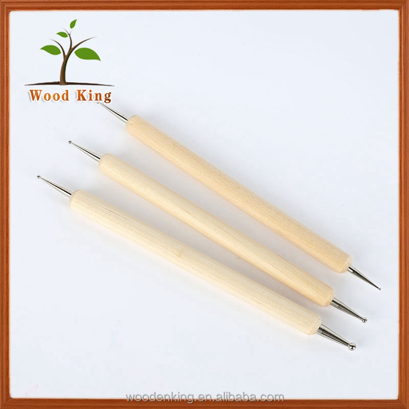Indentation Pen Eye Hole Polymer Clay Sculpture Oil Ceramic Art Sculpting Clay Tools Pottery
