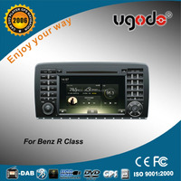 ugode hot sale car radio with gps double din for Ben-z R class car audio system