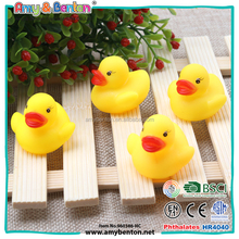 New educational kids toys small animal yellow rubber duck for pool