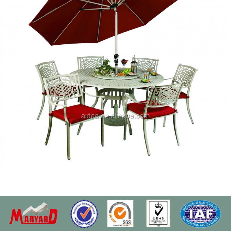 white wrought iron outdoor furniture table and chairs