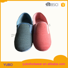 Fashion and stripy pattern injection kid baby shoe
