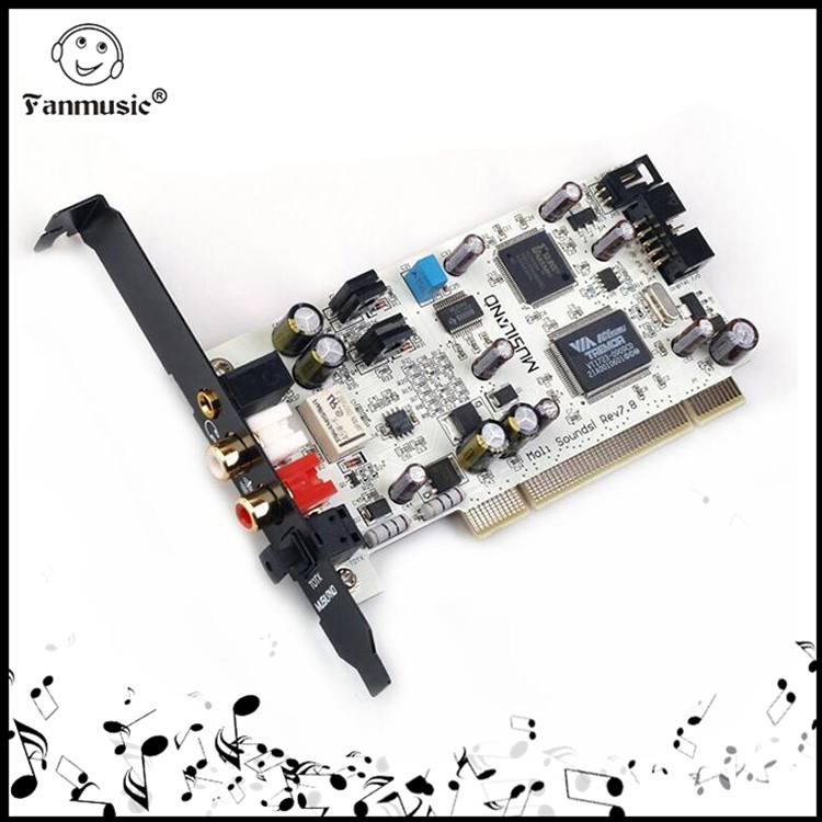 Musiland Moli 24bit/192khz 2 channel Mini PCI interface Sound Card