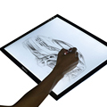A4 Tracing Light Box, Ultra-thin Portable LED Artcraft Light Pad, Dimmable Brightness, Smart Memory