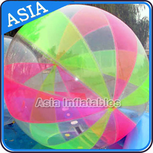 LED walk on water plastic ball/bubble ball walk water with pool and nice price