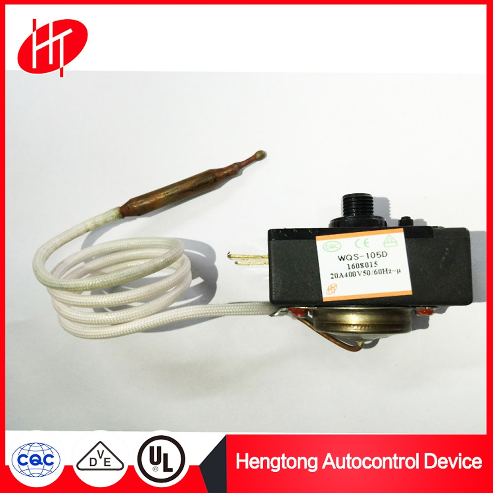 high limit Liquid expansion temperature controller thermostat for water heater