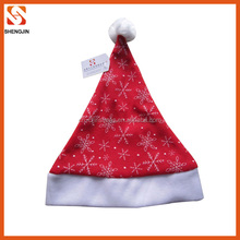 Factory direct sale wholesale stylish christmas hat ideas