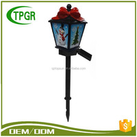 Hot Sale Christmas Led Solar Lights Garden Stake Outdoor Decoration