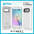 2015 New items in China Market Battery Case Charger,for Samsung Galaxy S6 Edge Case