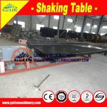 river Gold separating machine vibrating table