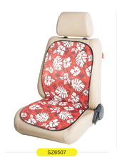 transfer red soft micro fabric banquet chair adult car seat cushion