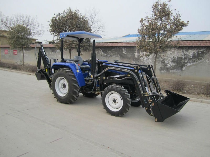 China Dq904 Farm Tractor Fit with 4in1 Front End Loader