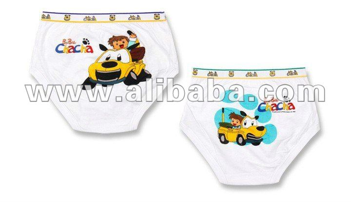 kids cartoon printed underwear