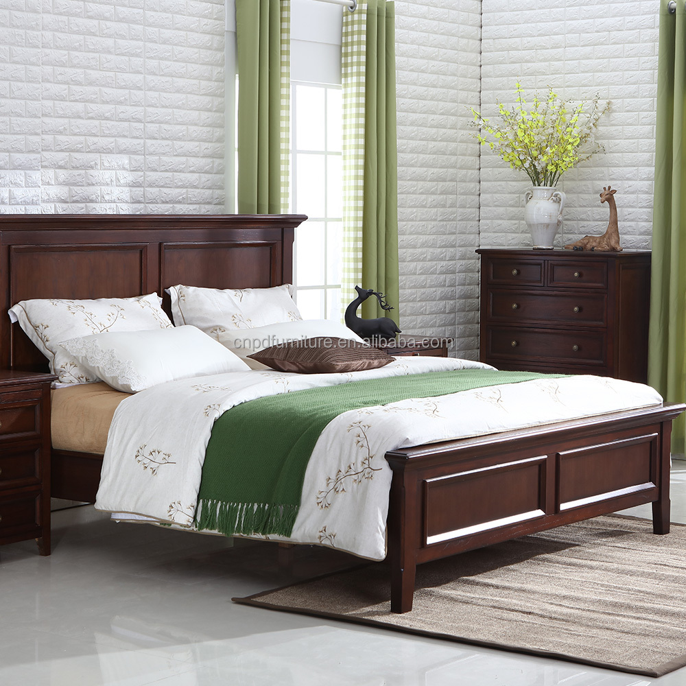 Double bed designs in wood - Double Bed Design Furniture Bed Room Wood Double Bed Designs With Box