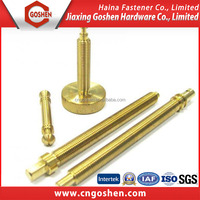 Brass fastener connecting piece / Customized bolt