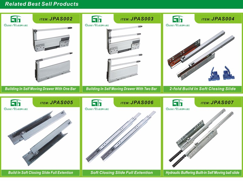 Super quality most popular plastic sliding drawers