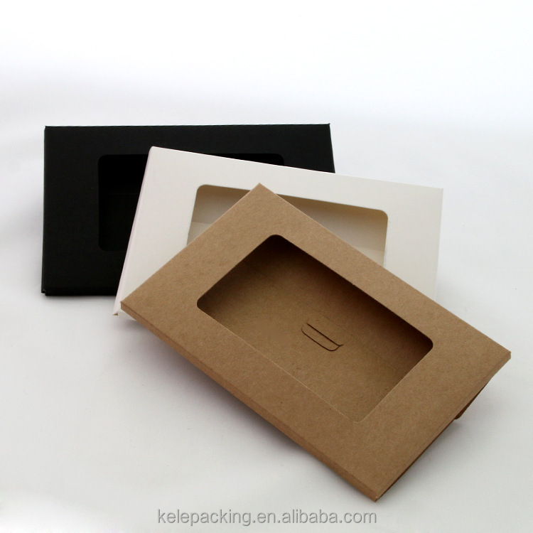 kraft paper card Envelopes with window Greeting Card Envelopes