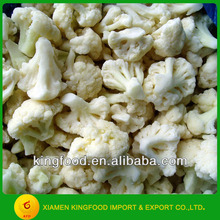 White cauliflower in bulk