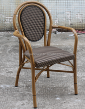aluminum bamboo chair ,metal wood bamboo furniture - hot selling at 33th CIFF AS-6019
