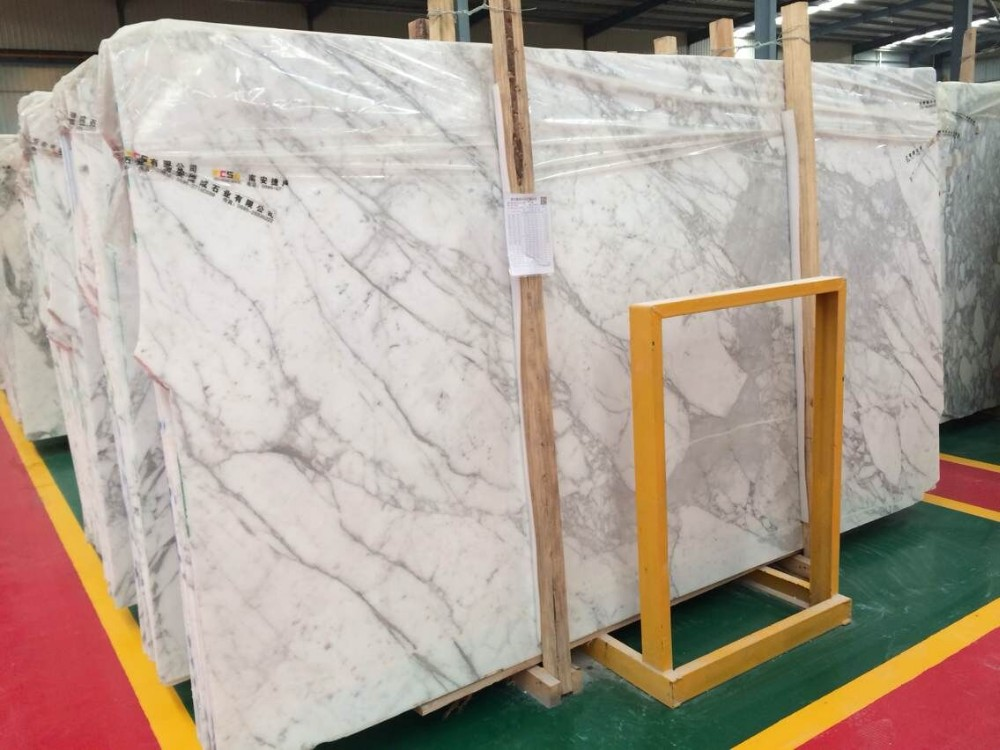 Price of Italian Bianco Statuario Venato Pure Snow White Marble