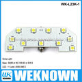 5050SMD 11LED 6W BA9S car led light &led car dome light & automotive dome light