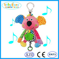 Baby musical hanging toys baby toys baby bell mobile soft infant toys
