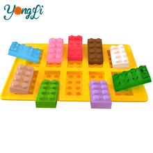 Building Bricks Silicone Rubber Jelly Mould