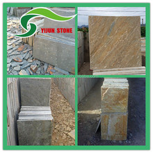 Natural Beige color granite slate slabs cut to size stone for interior floor