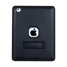 Shockproof 2 in 1 hybrid tpu kickstand universal full protect tablet case for ipad