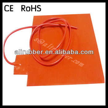 High Power Machinery Temperature Control Thermostat Silicone Heater Pad 110-380V