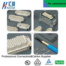 Heavy duty connector manufacturers cable connection SIBAS connector