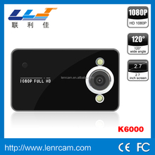 Full HD 1080P Vehicle Black Box K6000 Car DVR Camera