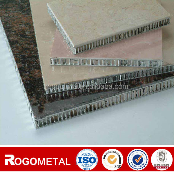 From manufacture 0.05thickness of foil stone aluminum honeycomb panel
