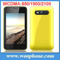WCDMA 850/1900/2100MHZ Android Phone 820 GSM+WCDMA 3G Dual Sim Smartphone