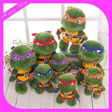 2016 the new custom plush anime teenage mutant ninja turtle plush turtles toys for sale
