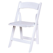 Chair for wedding party wooden foldable chair/folding study table and chair