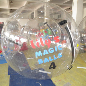 hot sale transparent inflatable mega ball inflatable water walking ball