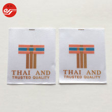 Oem Product Customized Heat Transfer Size Care Label for Clothing