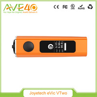 2016 New arrive 47*25.5*85.6mm evic e cigarette, Real Time Clock Joyetech 80w eVic vtwo mod