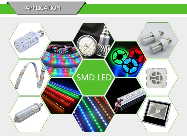 High Bright 0.5W Chip 7020 SMD LED for TV Backlight
