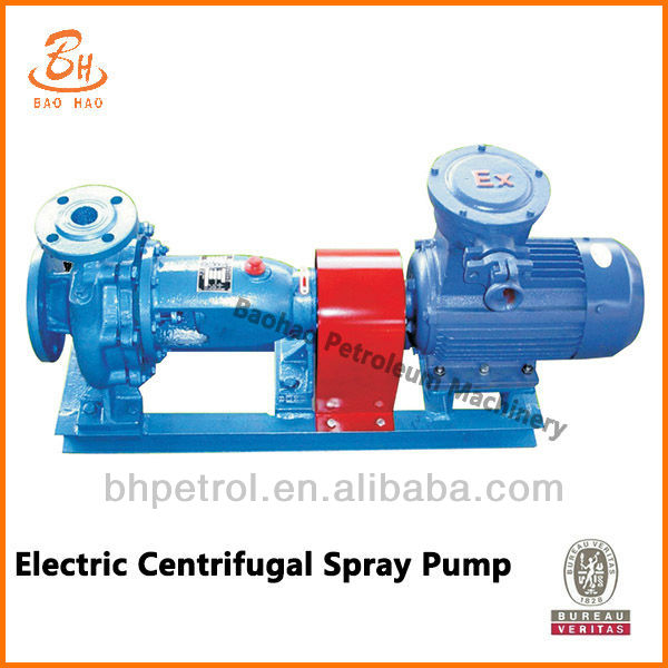 Drilling Centrifugal Mud Pump Spare Parts Spray Pump For Oilfield