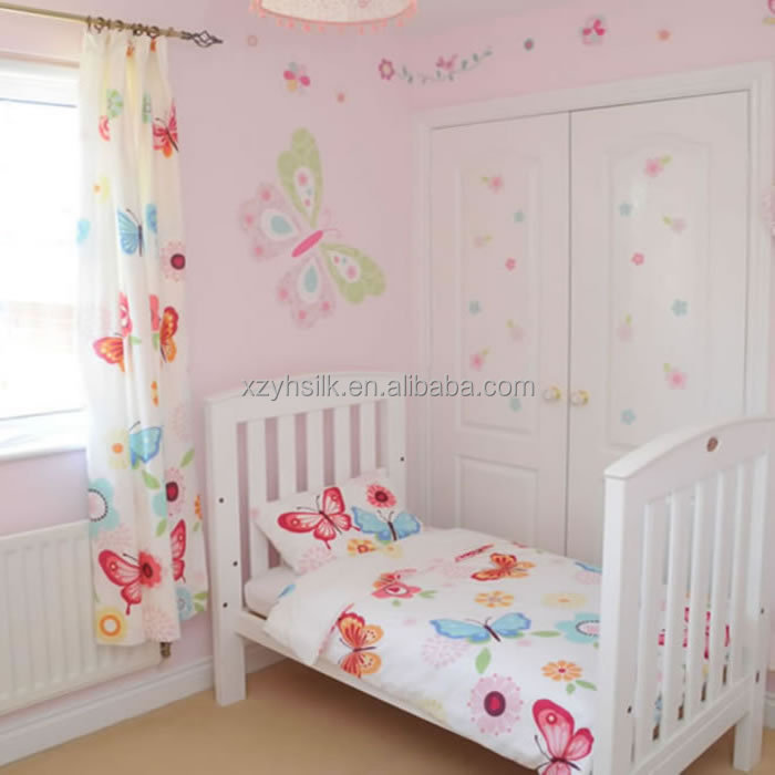 Butterflies Toddler Bedding Set