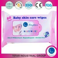 """Lenpai"" Alcohol Free Baby Skin Care Wipes Wet Tissue"